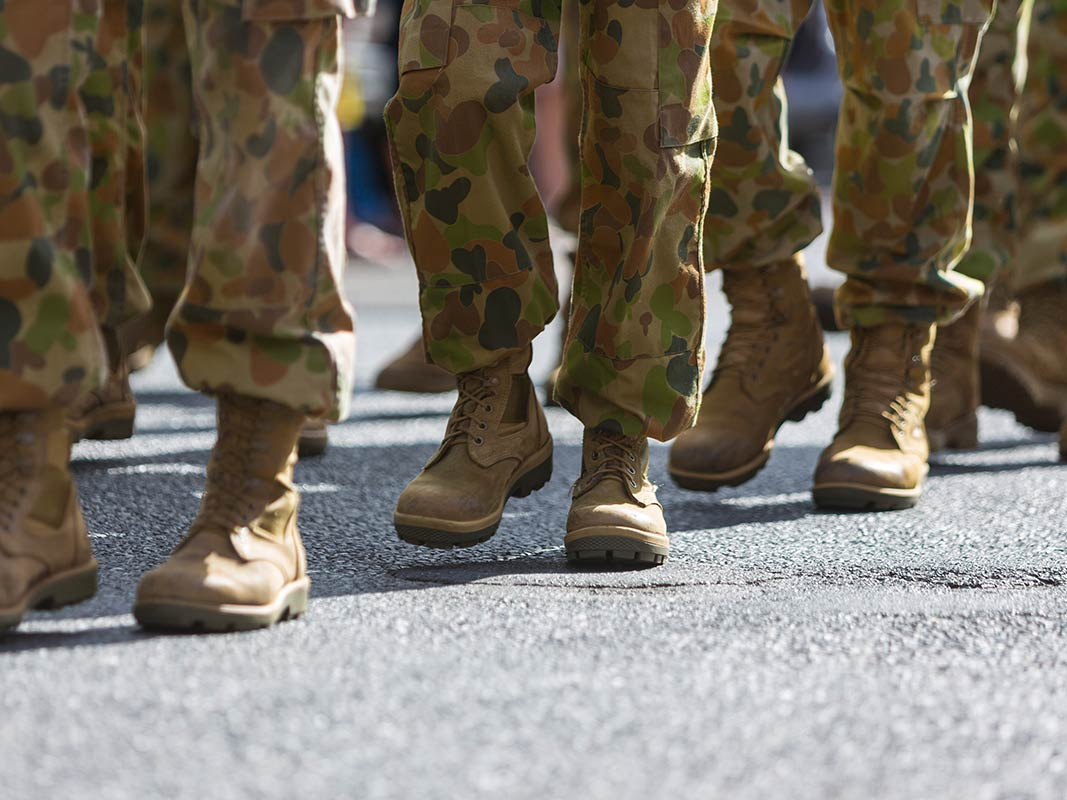 Defence industry support boots marching from GKL Group Townsville